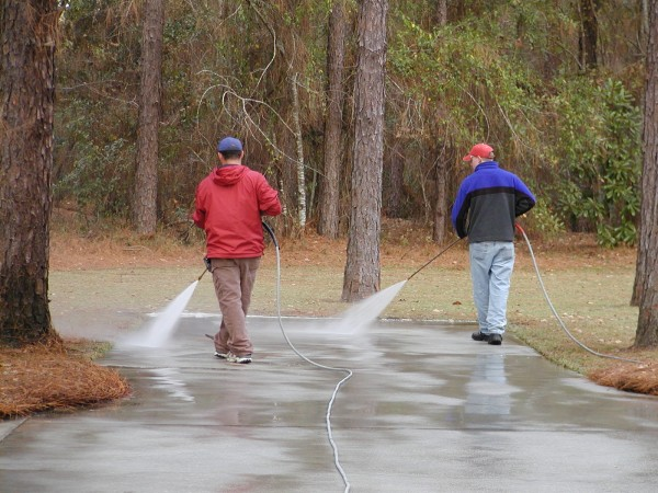 Pressure Washing Environmentally Safe
